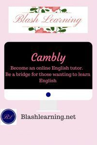 Cambly: Work from Home Opportunity. Read to find out how to become an online English tutor with Cambly.com. This is a safe place to share your native English speaking skills with many people all over the world that do not the oppoturiny to practice their English skills.  This work from home opportunity is a great platform to share your skills will earning a little extra money.  #Tutoring #onlinetutoring #tutoringEnglish