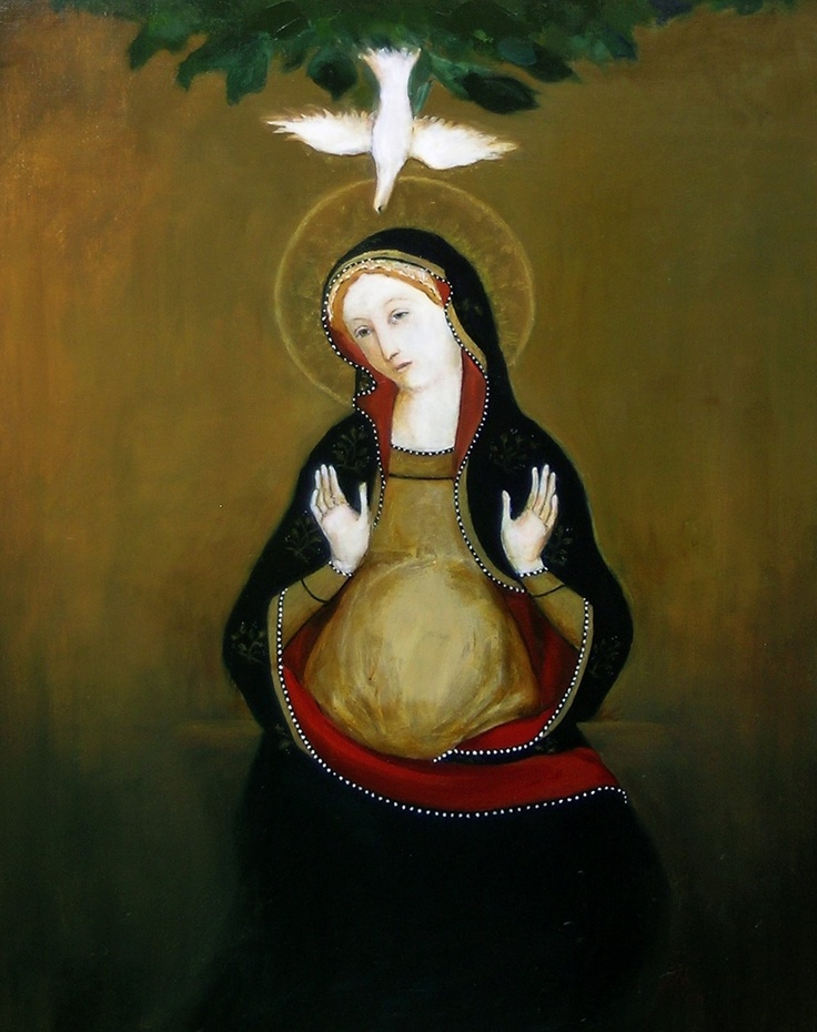 Mary With Child, by Kay Eneim, 2007 dans images sacrée 7779b20e62fb20d8a0e4f4b327b1150c