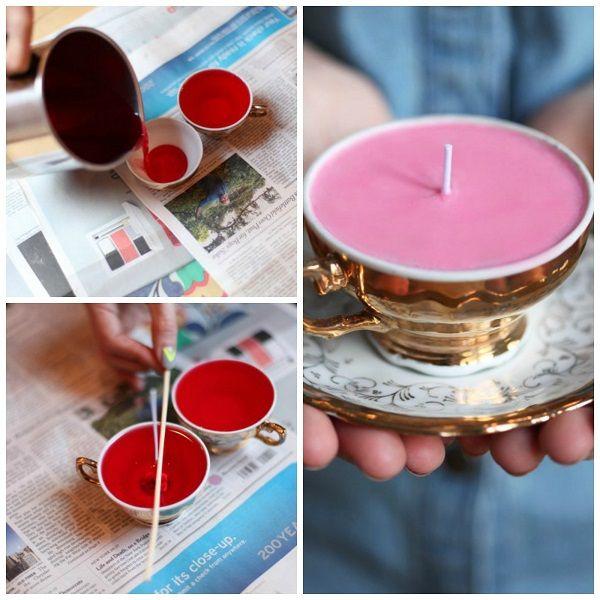 17 best images about velas on pinterest sand candles - Como hacer velas ...