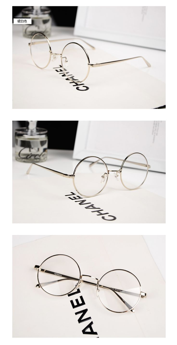 2014 Summer New Myopia Glasses Frame Plain Mirror Small Round Frame Men Women Fashion Eyeglasses oculos de grau-in Eyewear Frames from Men's Clothing & Accessories on Aliexpress.com | Alibaba Group