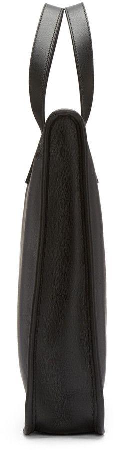 Loewe - Black Leather Briefcase