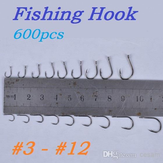 Wholesale cheap fishing hook online, barbed hooks - Find best high quality 600pcs/lot (600pcs/box) fish jig hooks with hole fishing tackle box 3# -12# 10 sizes carbon steel dropshipping at discount prices from Chinese fishing hooks supplier on DHgate.com.