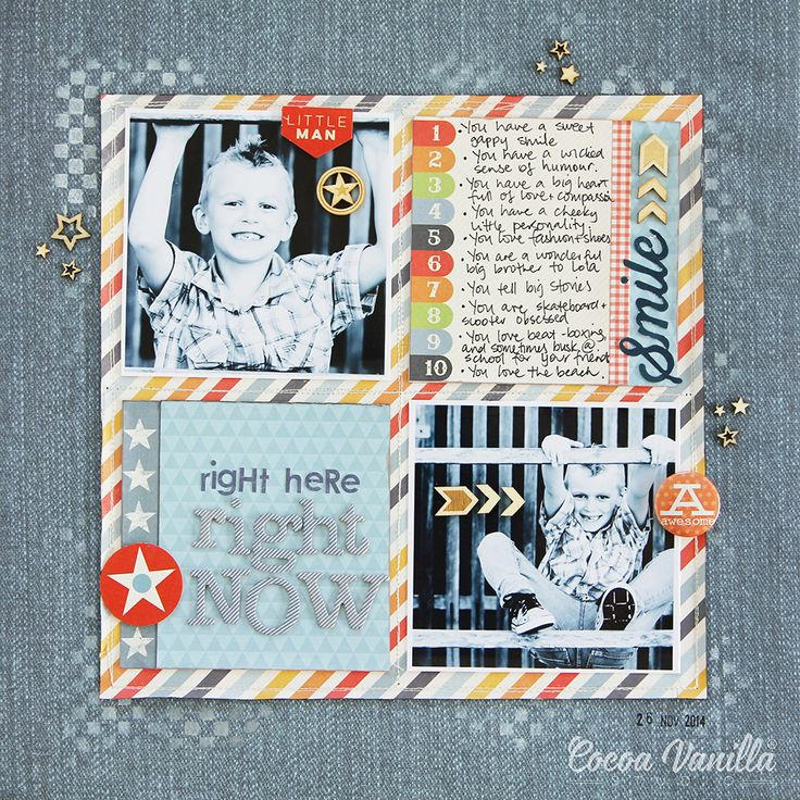 Right Here, Right Now - Cocoa Vanilla Studio Flying High Collection - Zoe Pearn - Scrapbook.com