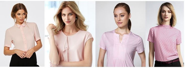 Blush it up with these pink shirting options #corporatereflection #bizcorporates #bizcollection