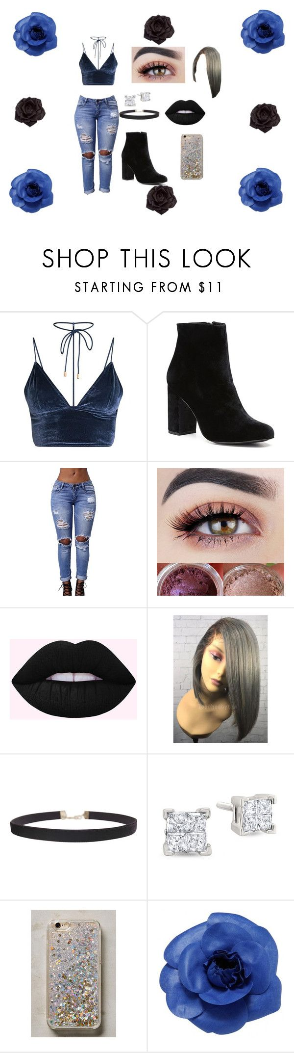 """Blue"" by blackjanija on Polyvore featuring Witchery, Humble Chic, Anthropologie, Chanel and Johnny Loves Rosie"