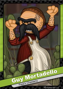 Flipdeck 188 Guy Mortadello Flipline Studios Papa Drawings Favorite Character