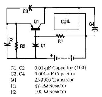 Electronic Project of Fire Alarm with LDR Sensor Circuit