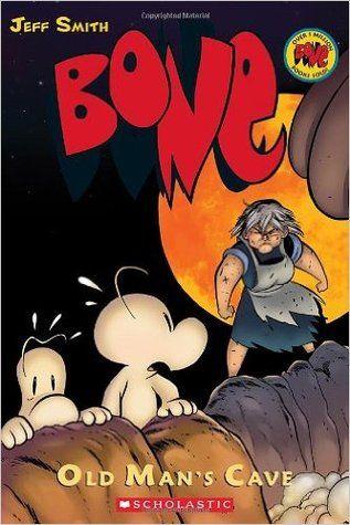 Bone Volume 6: Old Man's Cave (Bone #6) by Jeff Smith #graphicnovel #bone #middlegradecomics