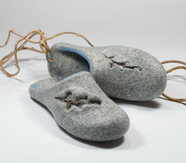 Мастер-Класс по валянию тапочек без пятки - Ярмарка Мастеров - ручная работа, handmade