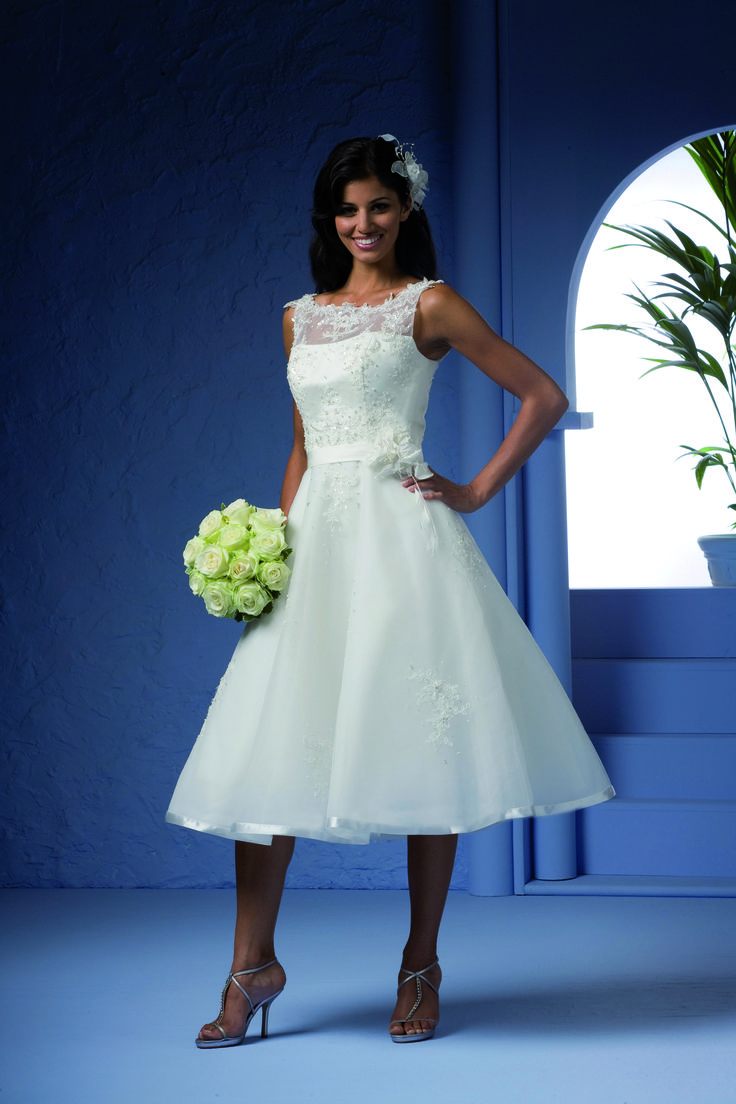 The 60 best Tea length wedding dresses images on Pinterest | Tea ...