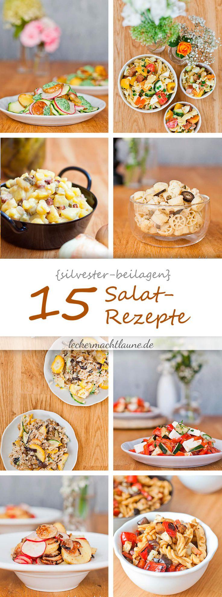 Heute habe ich eine kleine leckere Zusammenfassung zum Thema Salat-Rezepte für Euch, denn Silvester kommt mit großen Schritten auf uns zu.