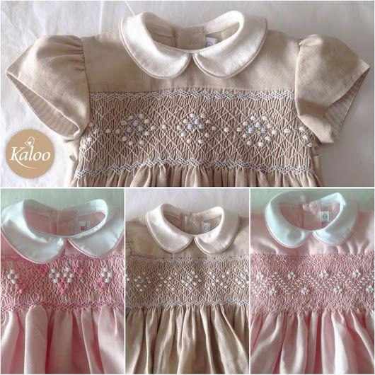 Hermosos vestidos con el clásico bordado smock ##vestidos ##elegante ##bordado ##smock ##niñas ##celebraciones ##clásico ##ocasiónespecial ##apedido ##h... - Kaloo Kids - Google+
