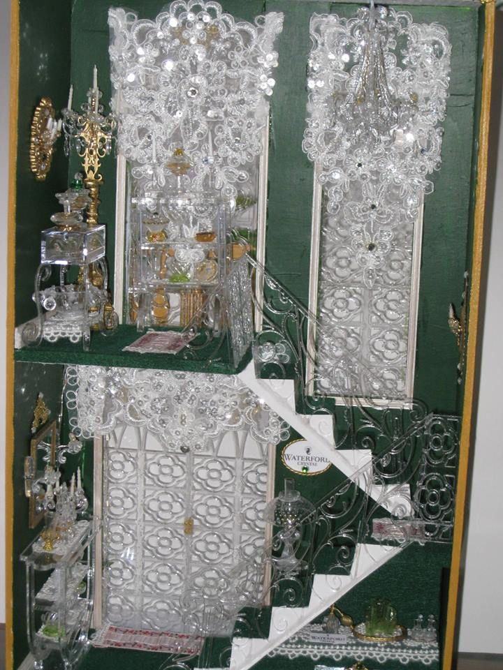 """Sheila's """"A Hallway for All Seasons"""" designed by Ron Mummert turned into the """"Crystal Palace Boutique""""-interior"""