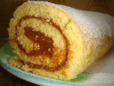 Arrollado de dulce de Leche ...este si tiene la receta!!!