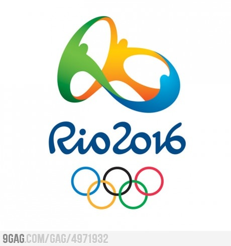 This Olympic logo design is like, a brazilian times better.