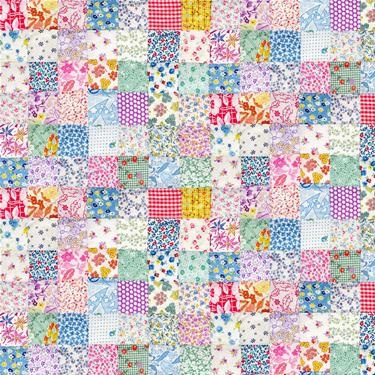 I have some printable fabric, so this would be very cute for making dollhouse bedding!
