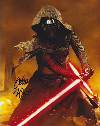Adam Driver (Star Wars: The Force Awakens) signed 8x10 photo @ niftywarehouse.com #NiftyWarehouse #Geek #Products #StarWars #Movies #Film