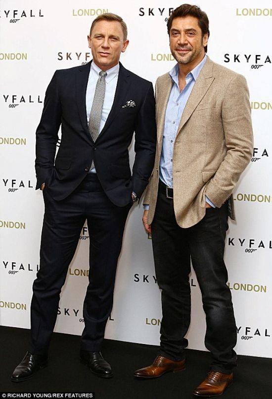 Daniel Craig and Javier Bardem~ Bond & Villain