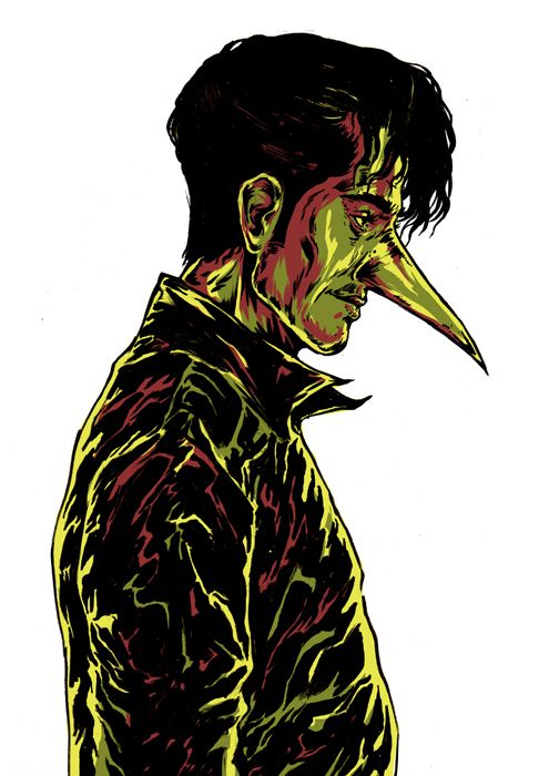 I know Someone From Outer Space by Nicolae Negura, via Behance