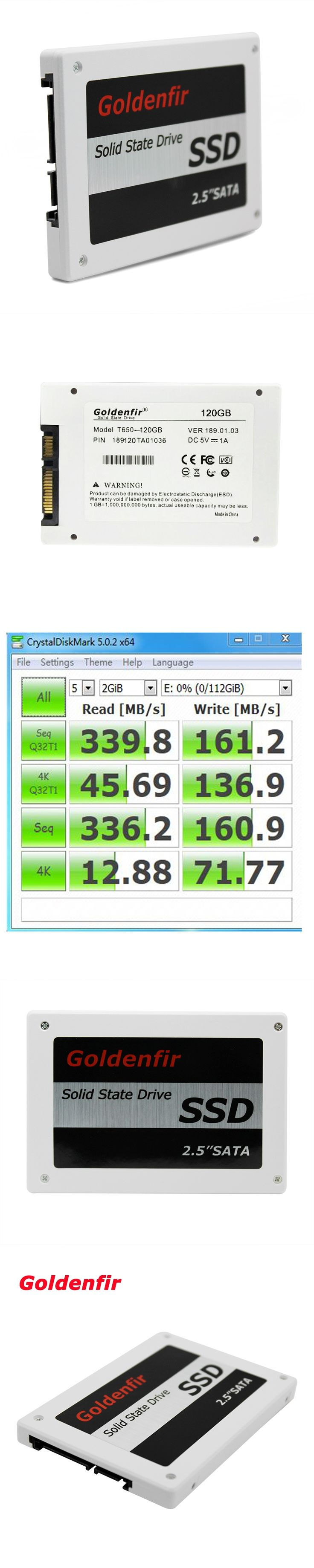 Goldenfir hard drive SSD 120GB hd SSD Laptop solid state hard disk SSD 120GB  for Notebook