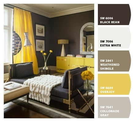 25 best ideas about yellow paint colors on pinterest. Black Bedroom Furniture Sets. Home Design Ideas