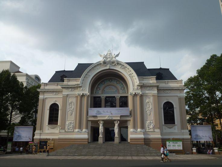 La Ópera.- Ho Chi Minh (Saigon).-Fotografía:Rebeca Pizarro