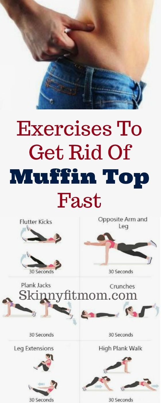 8 Simple Exercises To Get Rid Of Muffin Top Fast And