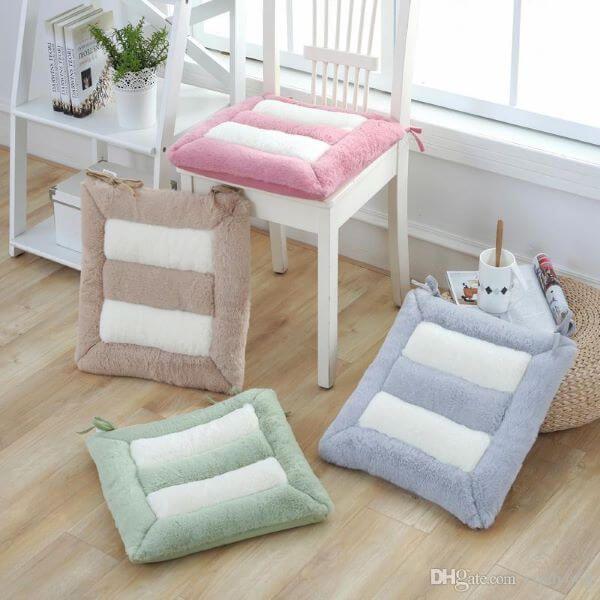 Almofada Para Cadeira Como Fazer 50 Modelos Confortaveis E