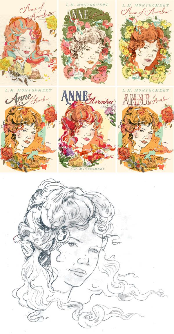 Book Cover Illustration Process : Best anne of green gables images on pinterest