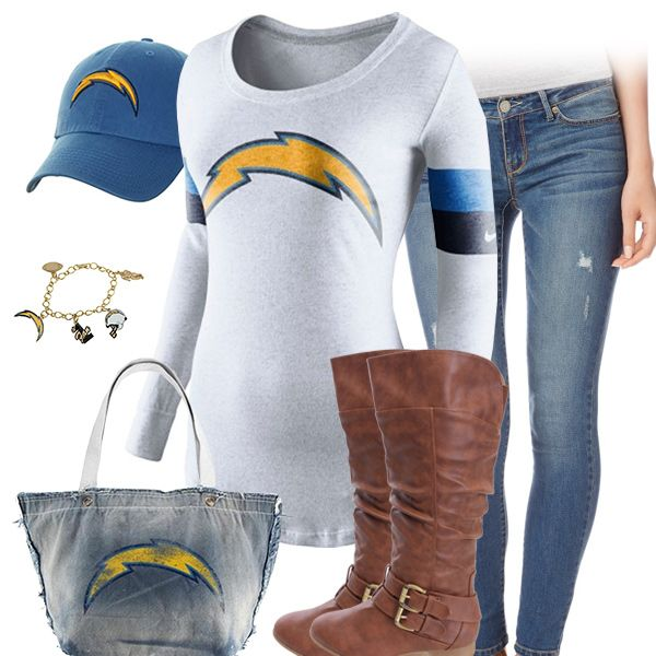 San Diego Chargers Outfit