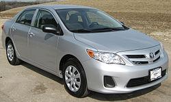 2011 Toyota Corolla LE (US) - WikiInfo