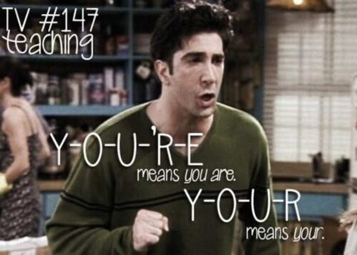 YOU'RE and YOUR Friends tv show