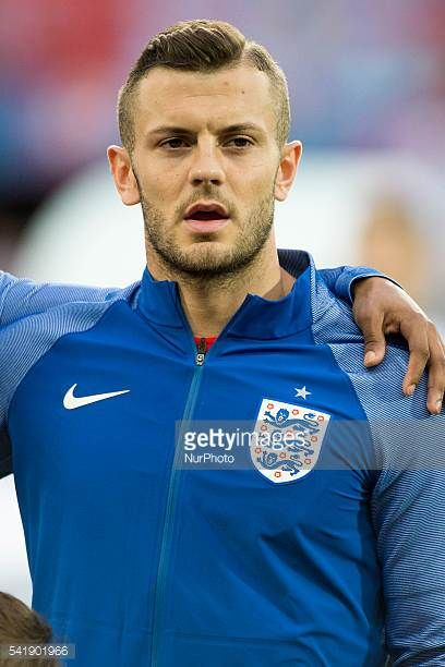 Jack Wilshere of England pictured before the UEFA Euro 2016 Group B match between Slovakia and England at Stade Geoffroy Guichard in SaintEtienne...