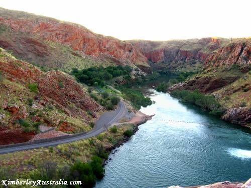 Lake Argyle The Ord River  Western Australia
