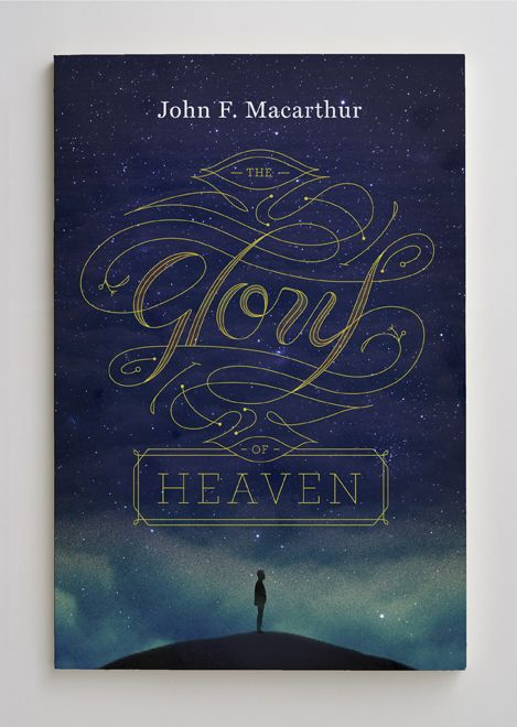 beautiful typography... feeling less excited about the guy looking so uninspired by the glory of heaven, but it's a captivating cover nonetheless...
