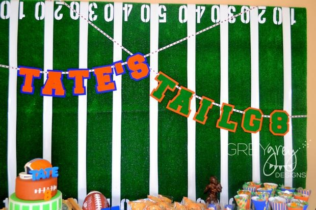 cute tailgate birthday party ideas