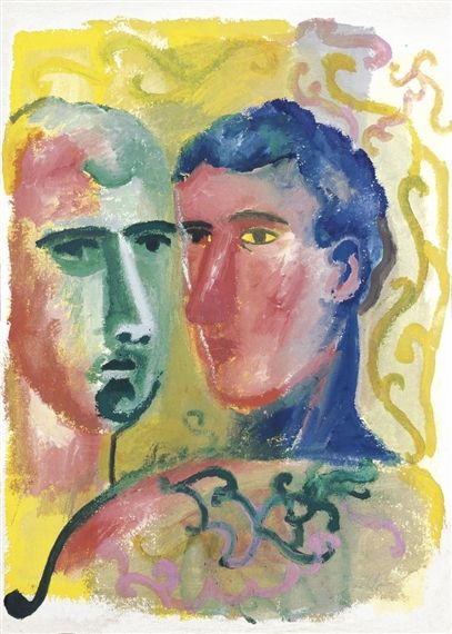 SANDRO CHIA http://www.widewalls.ch/artist/sandro-chia/ #contemporary #art #postmodernism #transavantgarde