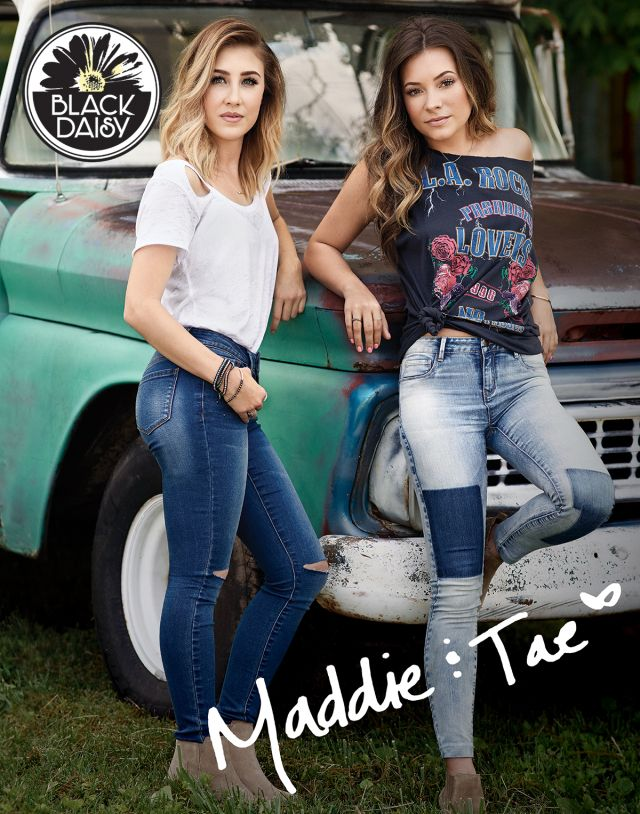 a3f02d70d Black Daisy Junior Line to Launch With Maddie & Tae as Face | Maddie & Tae  | Skinny Jeans, Juniors jeans, Ripped skinny jeans