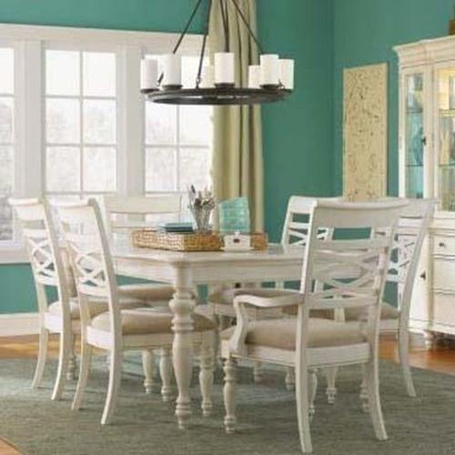 Ashley City Furniture Naples Fl: Glen Cove Seven Piece Rectangular Top Table And