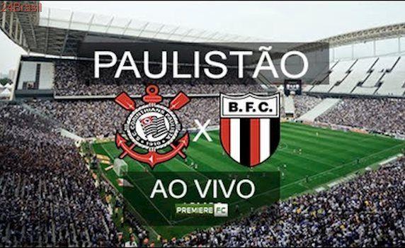 Assistir Corinthians x Botafogo-SP Ao Vivo HD - 09/04/2017 - PAULISTÃO 2017
