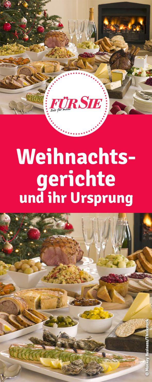 Weihnachtsgerichte und ihr Ursprung. Woher kommen typische traditionelle Gerichte zu Weihnachten?