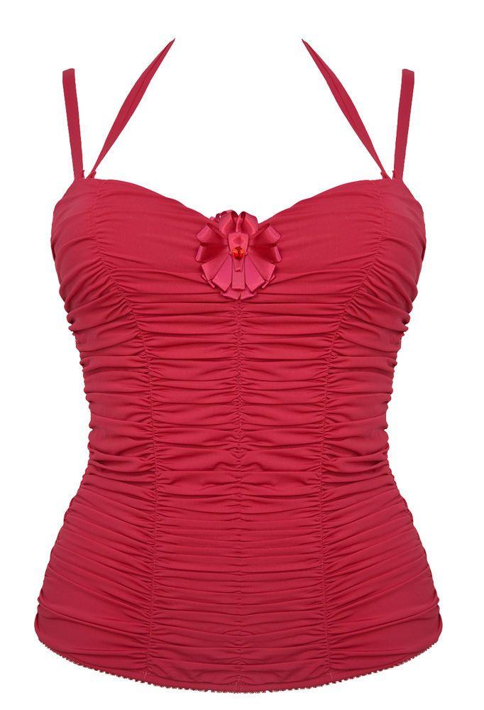 NEW /  Jolidon  Corsetto corset red  / 75B  34B #Jolidon #HookEye