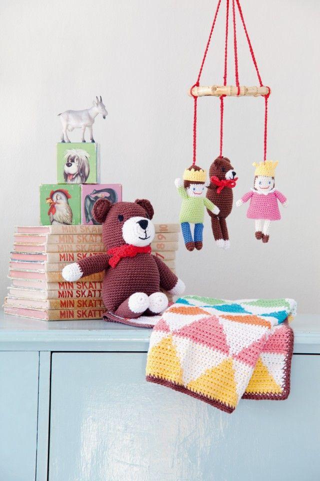 91168_1 - uro - bamse - teppe - til barnerommet