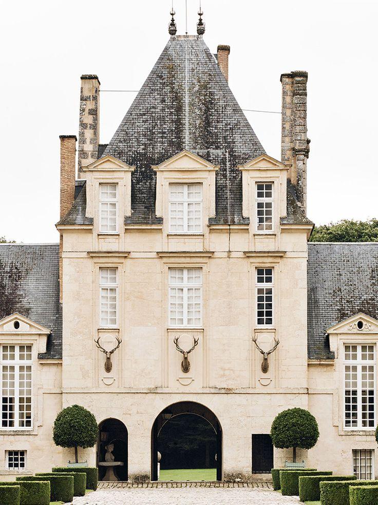 Places | At Home With: Hubert de Givenchy, Château du Jonchet, France