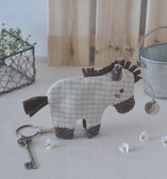 Porte clés petit âne