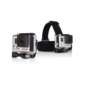 Fixation frontale GoPro Head Strap + QuickClip - 29€99 - FNAC