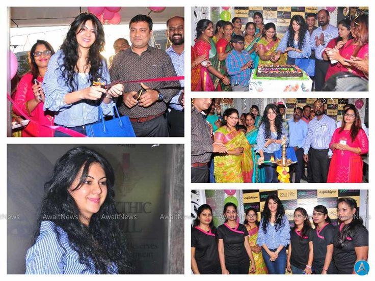 Kamna Jethmalani Launches Green Trends Salon Photos
