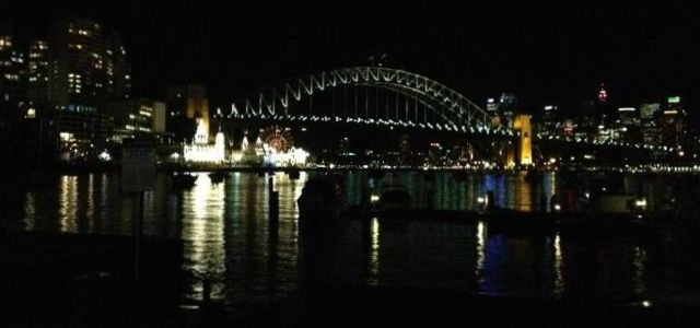 Paddling Sydney Harbour at Night and Things That Go Bump in the Darkness