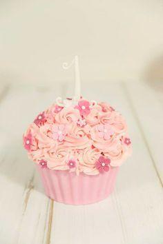 Cake Smash Taart voor een meisje