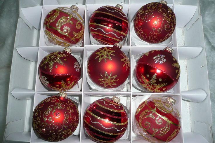 25 einzigartige rote weihnachtskugeln glas ideen auf for Besondere weihnachtskugeln